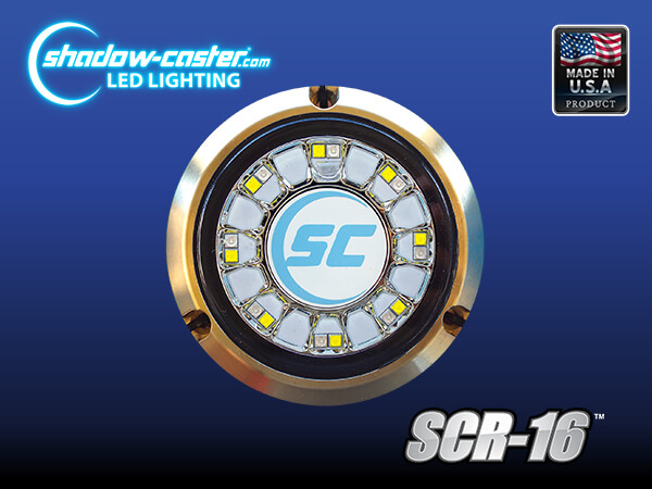 Shadow-Caster SCR 16 Round underwater light